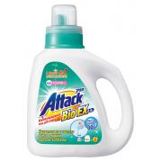 ATTACK BioEX Концентрированный универсальный гель для стирки бутылка 0,9 кг