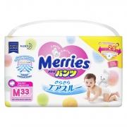 MERRIES Трусики-подгузники для детей размер M 6-11 кг 33 шт