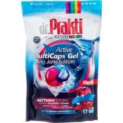 Капсулы гелевые для стирки Dr.Prakti DuoCaps Color 17 шт.