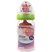 Бутылочка для кормления Pigeon SofTouch Peristaltic PLUS, 0+ мес. 160 мл. (премиальное стекло)
