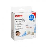 Пакеты Pigeon д/заморозки и хранения грудного молока 180 мл, одноразового применения, 25 шт.